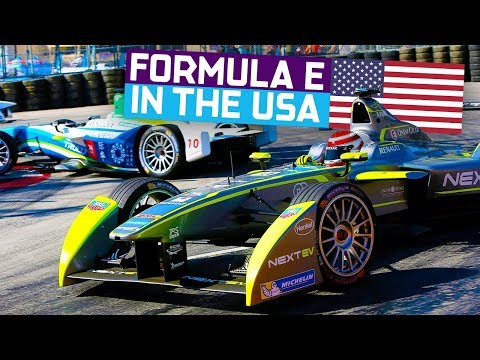 Racing Coast To Coast In The USA | ABB FIA Formula E Championship