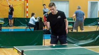 Turniej tenisa stołowego w Nagoszewie