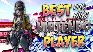 Fortnite Best Nintendo Switch Player 1170+ Win (Solos and Duos with Members!)