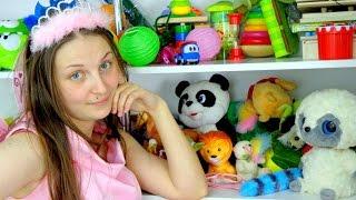 Видео для девочек. Фея Розочка рассказывает историю игрушек