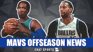Dallas Mavericks Trade News On James Johnson, Josh Richardson & Delon Wright + JJ Barea Free Agency