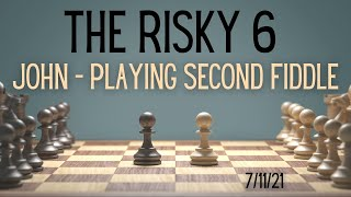 """The Risky 6 """"David - Playing Second Fiddle"""" (11:00 AM)   July 11, 2021   Canonsburg UP Church"""