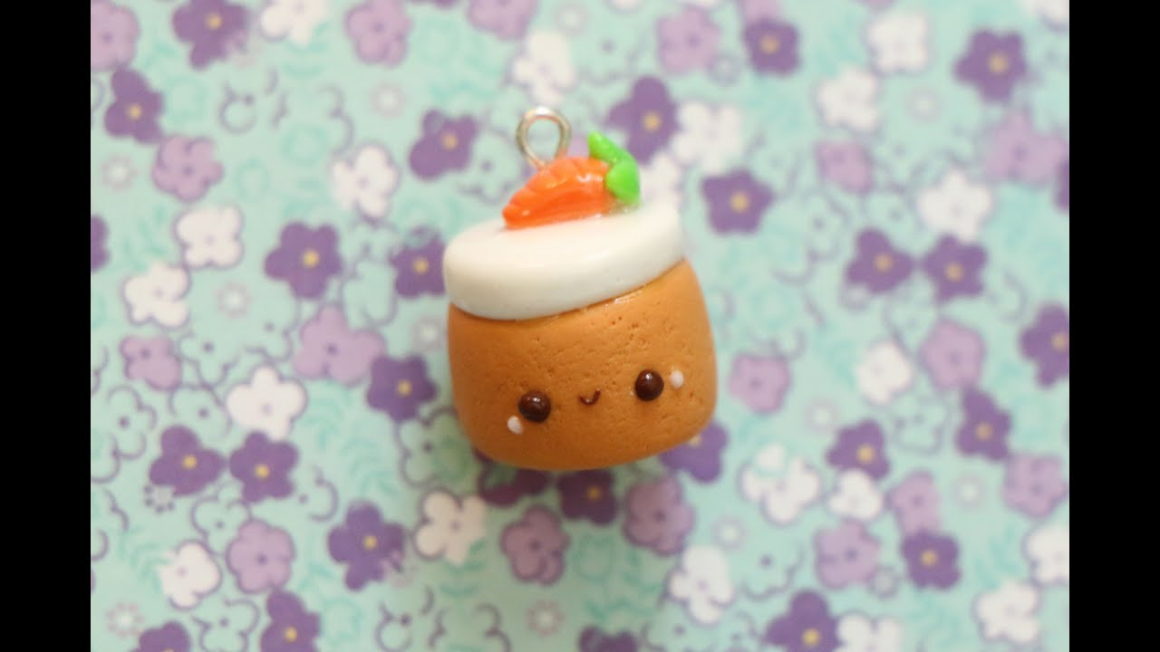 Polymer Clay Carrot Cake Tutorial