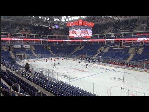 СПАРТАК и ДИНАМО: матч плей-офф без зрителей. Как это было / НХЛ остановила сезон