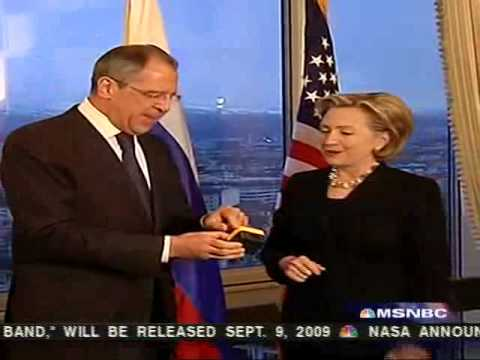 Hillary Clinton presents misspelled gift to Russian foreign minister
