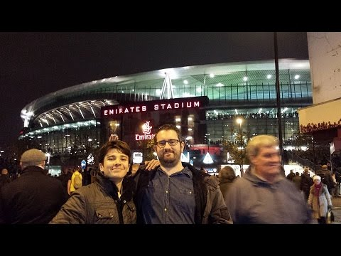 Video Blog Arsenal 1 - Manchester United 2 From Scotland to the Emirates in One Day