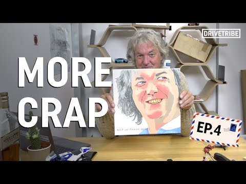 Did James May just open the weirdest painting ever?   Mail Time Ep.4