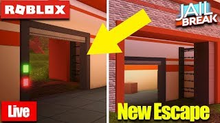 🔴 Roblox Live 🔴 JAILBREAK NEW ESCAPE, PRISON, AND JEEP! l Come Join Us🔥