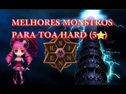 MELHORES MONSTROS PRA TOA HARD (5⭐) - SINNER GAMES
