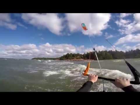 Kitesurfing Åland Islands Bastvik 2015