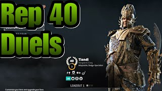 For Honor - Reputation 40 Tiandi Duels! No Life My Way To Rep 60!