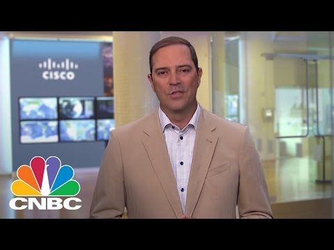 Cisco Systems CEO Chuck Robbins: A Cybersecurity Focus | Mad Money | CNBC