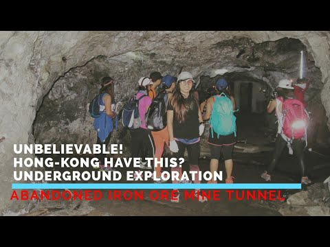 Iron mine, Underground Tunnel Exploration 2018