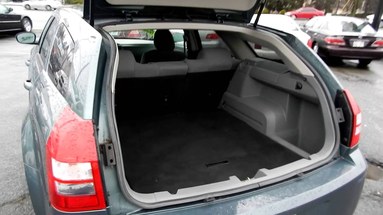 2005 Dodge Magnum SE, Gray   Stock# L680638   Interior, Rear