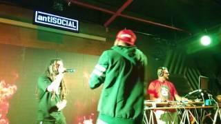 Divine performing unreleased Rap song Azaadi