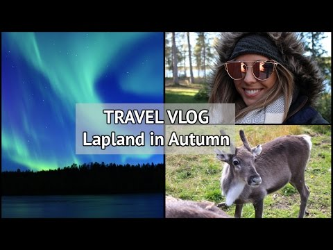 Lapland in Autumn | xameliax Travel Vlog | Finland