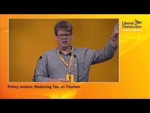 Liberal Democrats Autumn Conference 2015 Reducing tax on tourism policy motion
