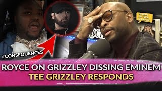 "Royce Da 5'9"" On How Tee Grizzley Burnt His Bridge To Eminem, Tee Grizzley Responds To Royce"