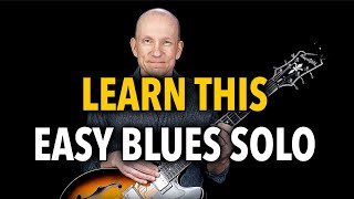 Learn an Easy Blues Solo - Lesson E01