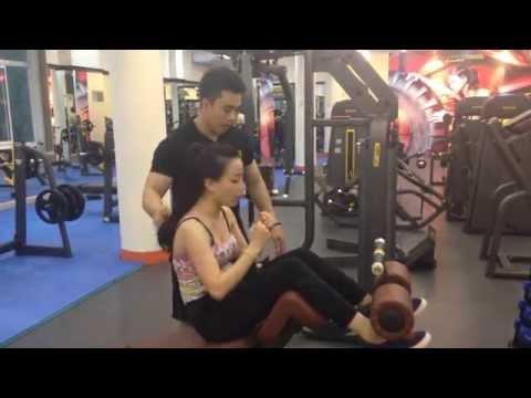 Hải phòng LX Gym Fitness & Yoga - Bài tập ngực, bụng cho nữ