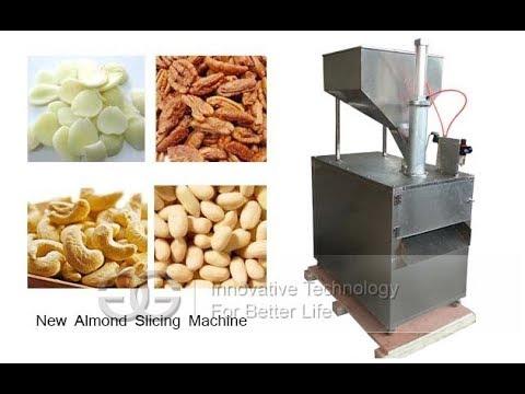 New Model Almond Badam Slicing Machine Peanut Dry Fruit ...