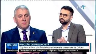 Preşedintele Comisiei de control al SRI, despre chitanţele prezentate de Florian Coldea