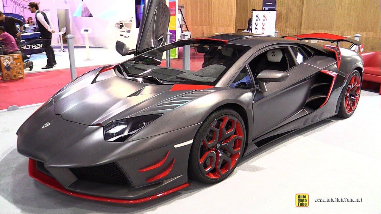 2013 Lamborghini Aventador Avanti Rosso By Nimrod Exterior