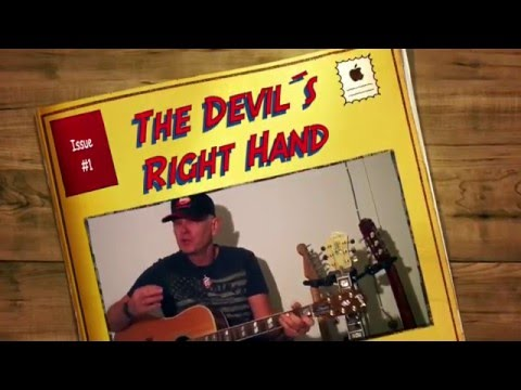 The Devil´s Right Hand,  Easy guitarlesson by Roger