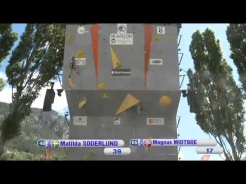 Climbing World Cup 2012 Lead Briançon, FRA - Women's and Men's Semifinals