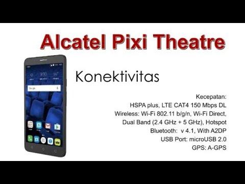Alcatel Pixi Theatre Spesifikasi dan Review Indonesia