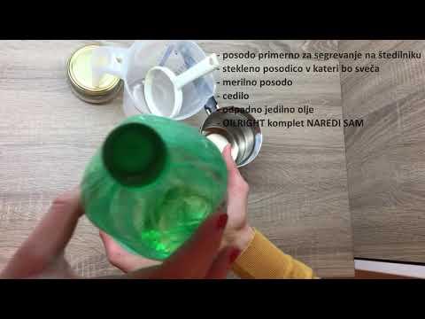 Kako naredimo svečo iz odpadnega jedilnega olja? 🕯️♻️🪔