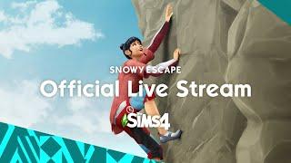 The Sims 4 Snowy Escape Livestream