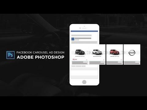 Facebook Carousel Ad Design In Adobe Photoshop CC - Tutorial