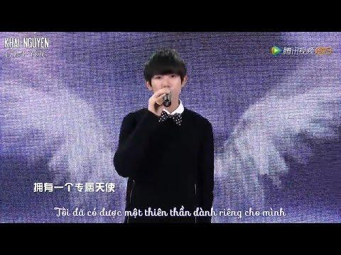 [Vietsub Live] TFBOYS Vương Nguyên (Wang Yuan - 王源) - Thiên thần của riêng tôi (专属天使)