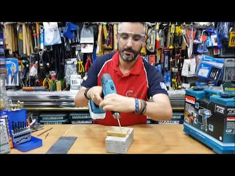 TALADROS A BATERÍA ¿Cómo taladrar hormigón, madera y acero?