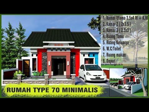4400 Koleksi Gambar Rumah Minimalis Sederhana Type 70 HD
