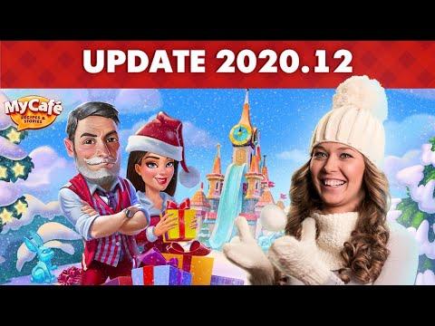 My Cafe: Winter Update 2020.12