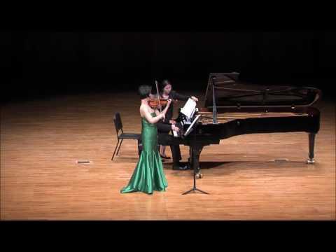 Ju-Young Baek & Ralf Gothoni Duo Concert - Mozart Violin Sonata  No.32 (Mov.3)