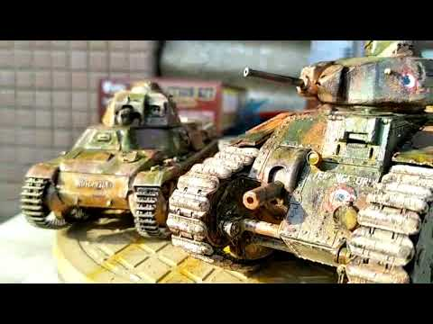 My Model.The FRENCH ARMY Tanks.