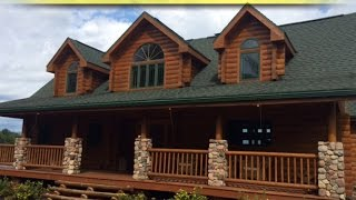 Northwestern Wisconsin - Log Home & 500+ Acres Land Online Auction