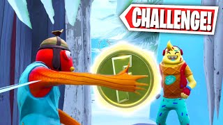 ICE MOUNTAIN COIN CHALLENGE PARKOUR MAP! (Fortnite Creative Mode)