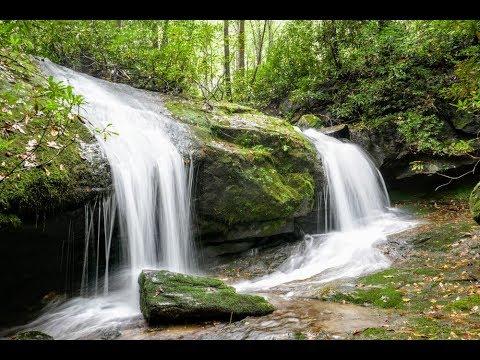 Thunderhole Falls Pisgah National Forest Nc Youtube