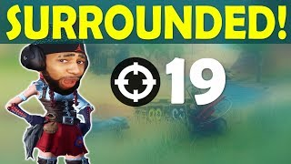 SURROUNDED BY STREAM SNIPERS! | MY FAVORITE LOADOUT | HIGH KILL FUNNY GAME- (Fortnite Battle Royale)