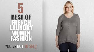 French Laundry Women Fashion [2018 Best Sellers]: French Laundry Women's Plus Size V-Neck Cozy