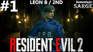 Zagrajmy w Resident Evil 2 Remake PL | Leon B | odc. 1 - Początek kampanii Leon 2nd | Hardcore S