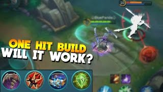 Mobile Legends Karina ONE HIT BUILD?