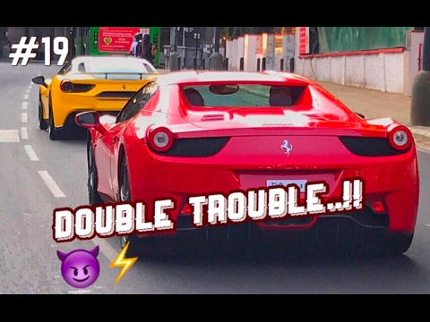 The Ferraris 2x rolling in Bangalore streets ( Supercars in India ) thumbnail