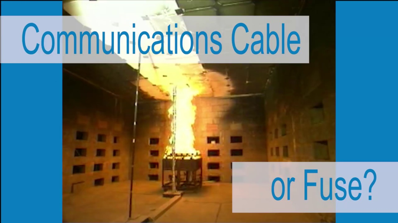 Ccca Counterfeit Communications Cable Fire Test Youtube Fuse Box