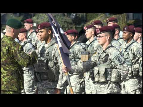 US Paratroopers To Start Training Ukrainian National Guard In April