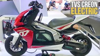 TVS Creon Electric Scooter Unveiled at Auto Expo 2018